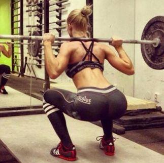 girl squat